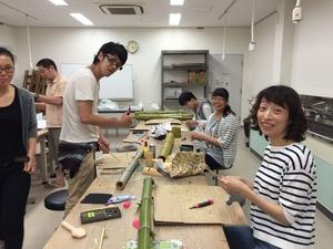 (6月28日)''竹の全才能を開花させる竹細工''  『あみゅー厚木版』